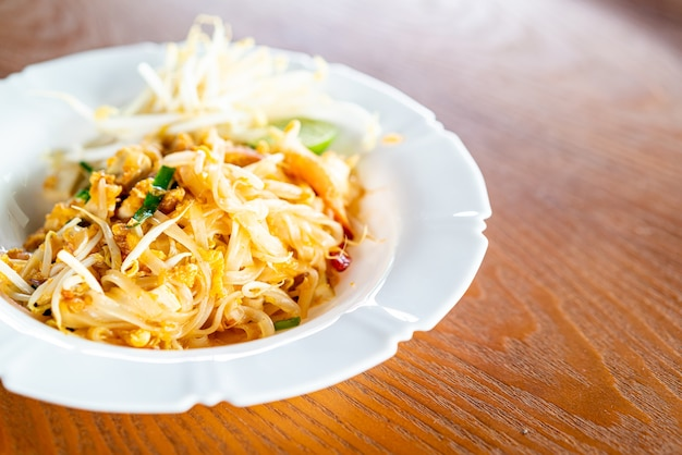 Fideos estilo tailandés, pad thai