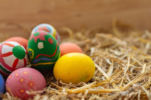 Fiesta del huevo de pascua.