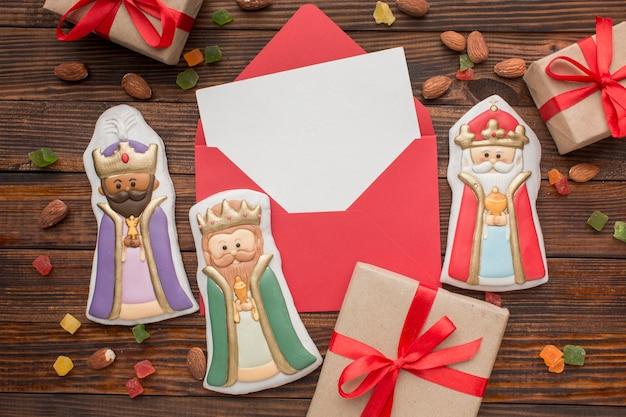 Figuras comestibles de galletas royalty
