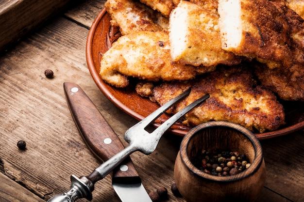 Filete de pechuga de pollo a la parrilla