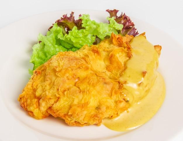 Filete de pollo con queso