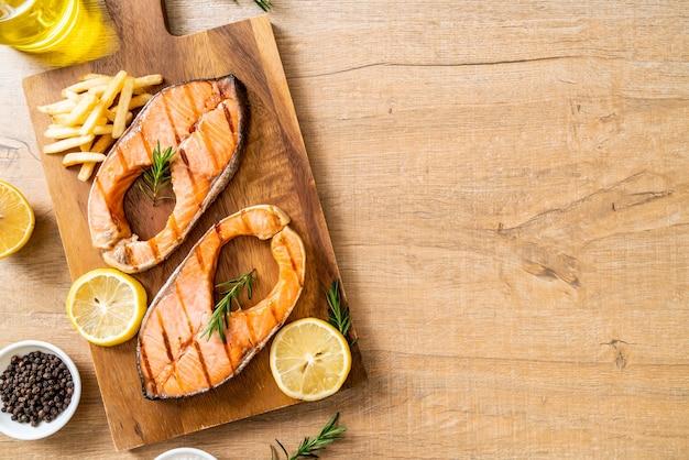 Filete de salmón a la plancha