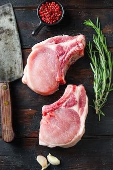 Filetes de cerdo biológicos orgánicos