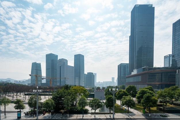 Financial center plaza y edificio de oficinas, chongqing, china