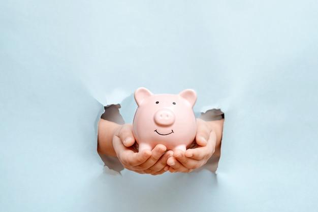 Finanzas, economía o ahorro de dinero, divisas.