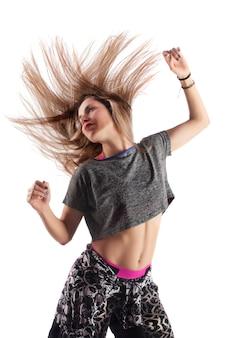 Fitness ejercicio chica