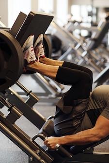 Fitness en el gimnasio