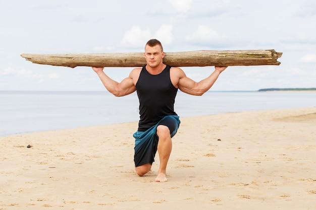 Fitness en la playa