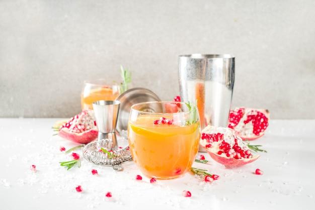 Fizz de naranja y romero