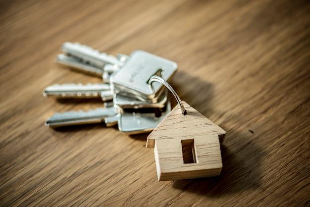 Flat lay of real estate concept Foto gratis