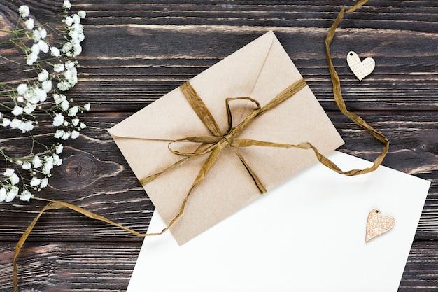 Flay lay regalo de bodas