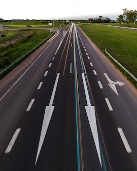 Flechas de la carretera