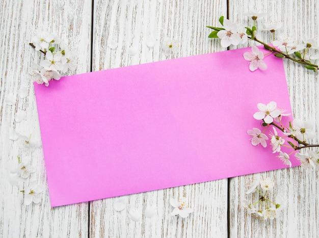 Flor de cerezo de primavera