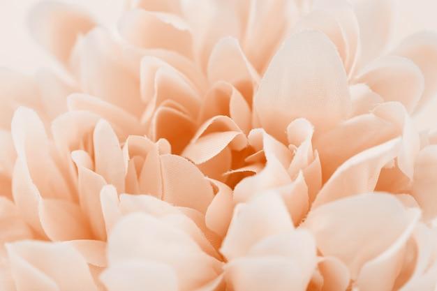 Flor de color dulce hecha y estilo borroso