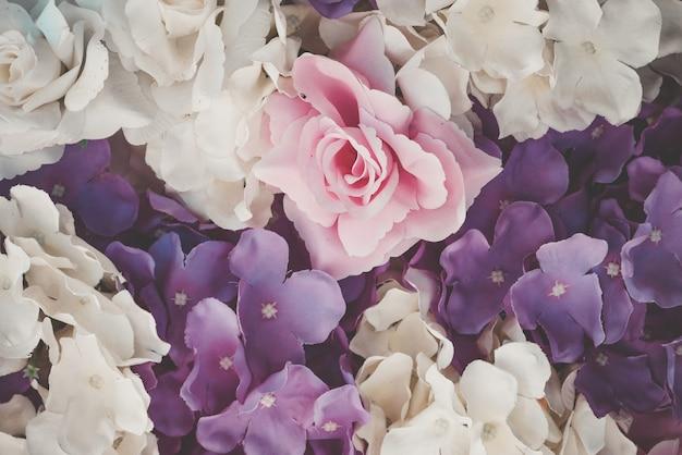 Flor hermosa del ramo para el fondo