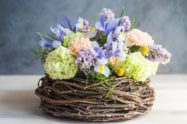 Floral para tarjeta