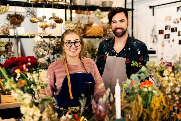 Florería propietarios de pequeñas empresas