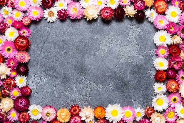 Flores abstractas para el fondo