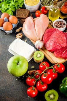 Fodmap comida de dieta saludable