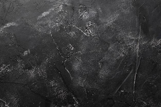 Fondo de abstracción negro. vista superior.