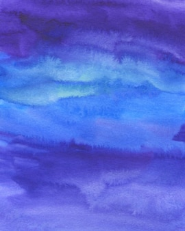 Fondo abstracto acuarela, textura pintada a mano. manchas de acuarela azul, violeta y rosa. diseño de fondos, papeles pintados, carátulas y embalajes