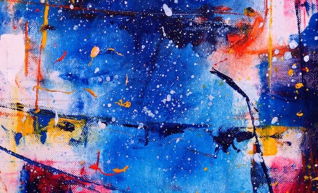 Fondo abstracto de la acuarela con textura.
