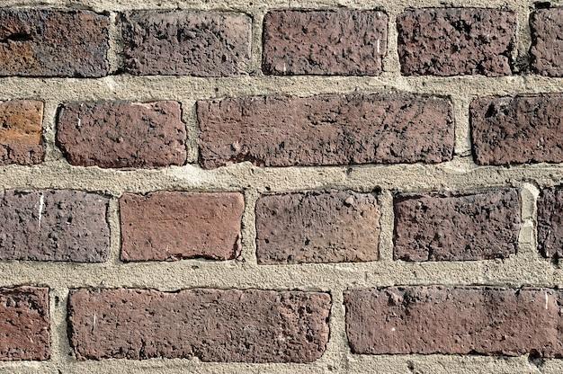Fondo abstracto - antiguo muro de ladrillo