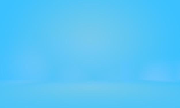 Fondo abstracto azul degradado. estudio azul oscuro liso con viñeta negra