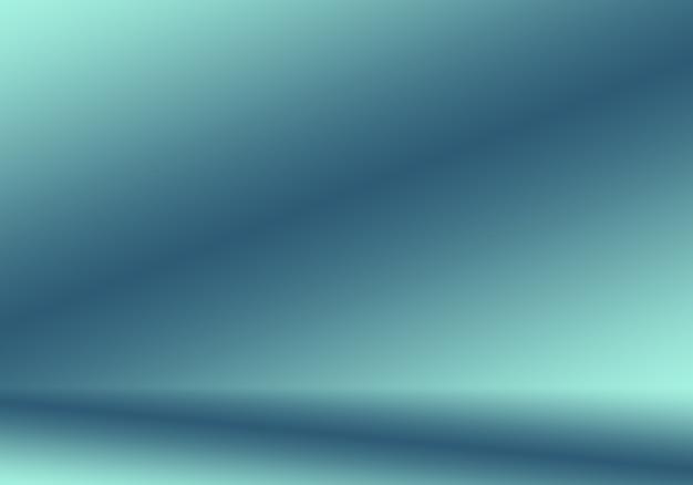 Fondo abstracto azul degradado. estudio azul oscuro liso con viñeta negra.
