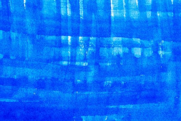 Fondo abstracto de azul pintado en muro de hormigón
