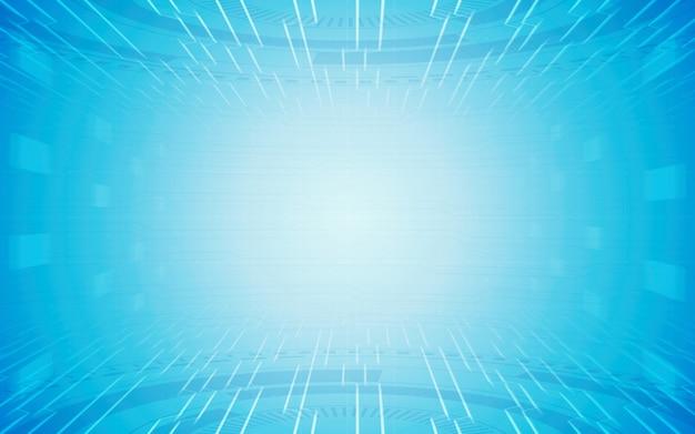 Fondo abstracto azul tech