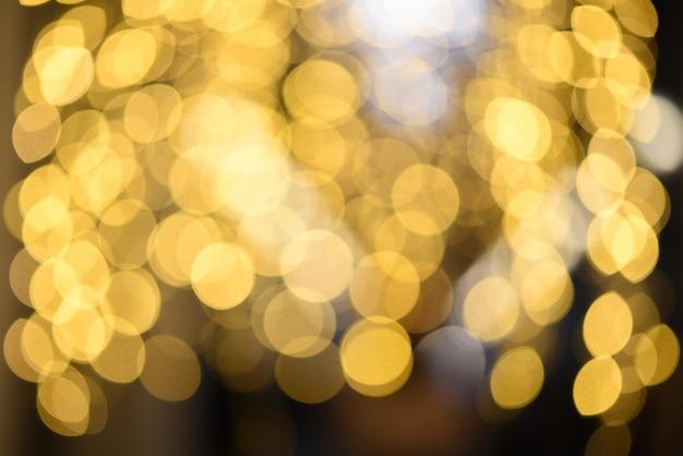 Fondo abstracto bokeh borrosa de christmaslight