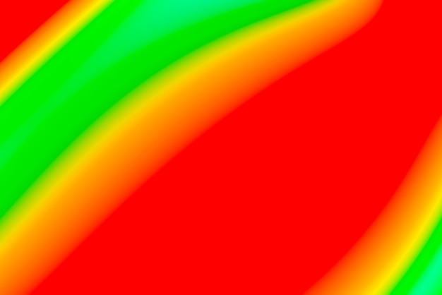 Fondo abstracto borroso con vivos colores primarios