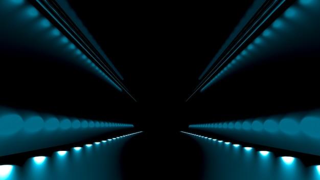 Fondo abstracto con brillo y camino.