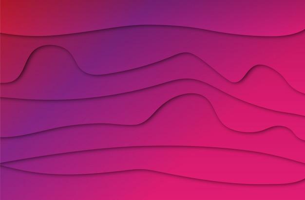 Fondo abstracto colorido línea púrpura