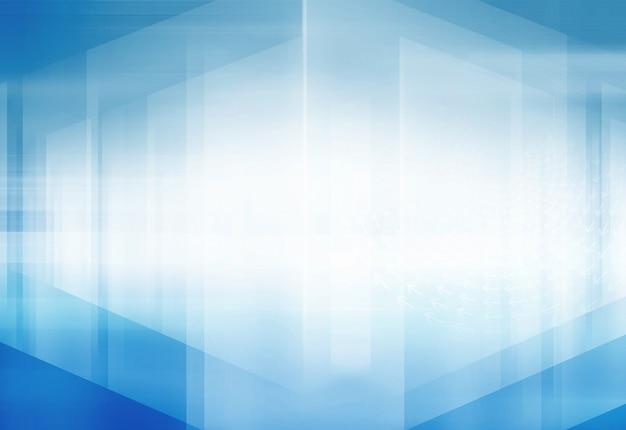 Fondo abstracto del espacio 3d de alta tecnología