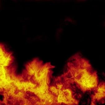 Fondo abstracto de fuego