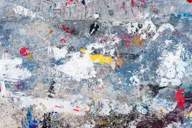 Fondo abstracto de gota colorida en piso