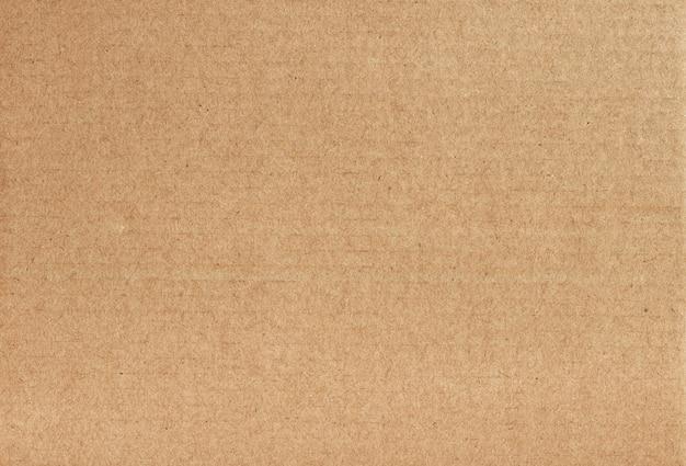 Fondo abstracto de hoja de cartón marrón, textura de caja de papel reciclado