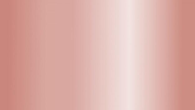 Fondo abstracto de hoja de metal de oro rosa con textura suave espacio brillante para navidad y san valentín.