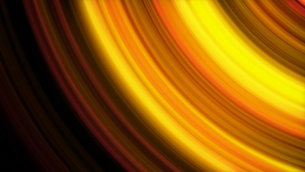 Fondo abstracto de ilustración 3d de líneas brillantes