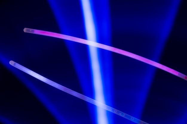Fondo abstracto con luces de colores