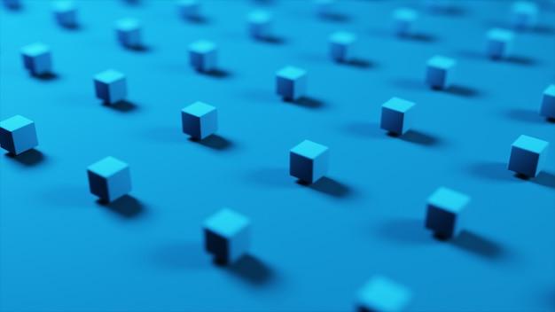 Fondo abstracto con maravillosos cubos de colores