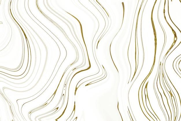 Fondo abstracto de mármol blanco y oro