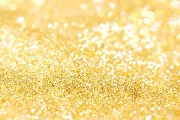 Fondo abstracto oro luz bokeh navidad vacaciones