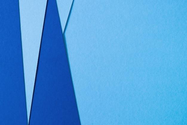 Fondo abstracto de papel de textura azul