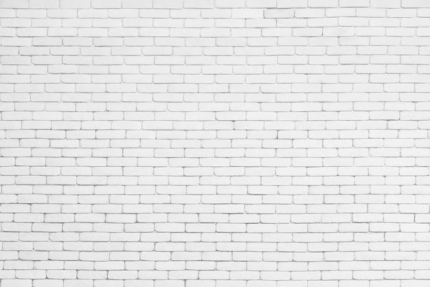 Fondo abstracto de la pared del patrón de ladrillo blanco. superficie de la textura del ladrillo para el contexto de la vendimia.