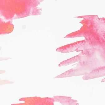 Fondo abstracto pintado cepillado rojo