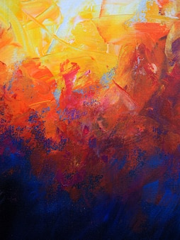 Fondo abstracto de pintura de aceite