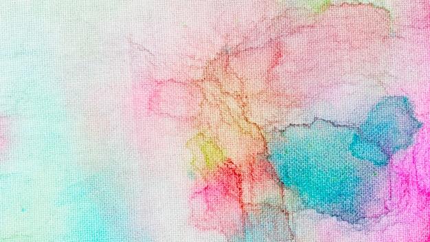 Fondo abstracto de pintura color acuarela
